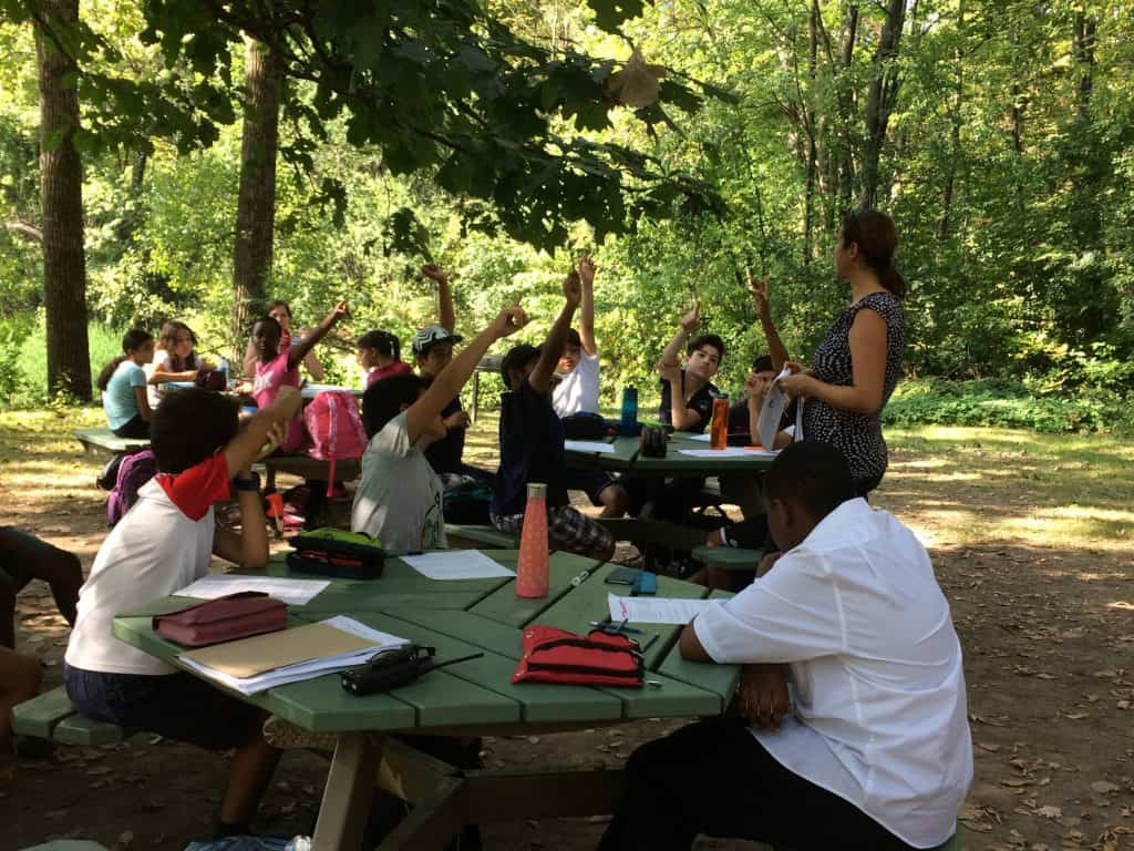 pedagogie en plein air