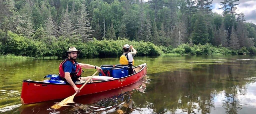 excursion en canot